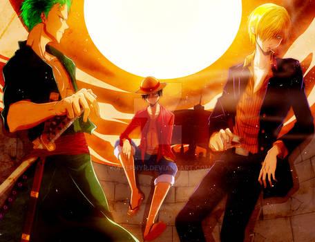 One Piece: Monster Trio