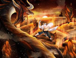 Epic Battle by razephyr