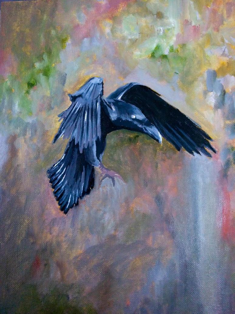 Raven by Wulzin