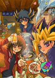YGO 10thAniversary Grill Party by Moondogla