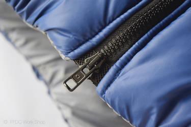 Jacket reversible (front zip)
