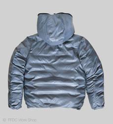 Jacket reversible (grey back)