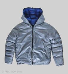 Jacket reversible (grey front)