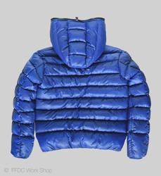 Jacket reversible (blue back)