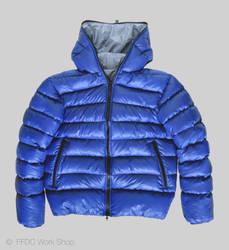 Jacket reversible (blue front)