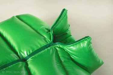 Sleeping body bag (green)