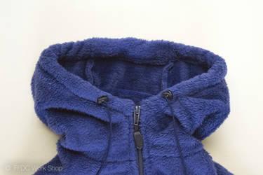 Fleece jacket loft (navy)