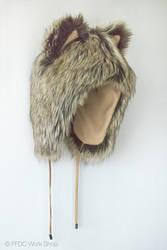 Animal hood, wolf beige (short) by FreemanFDC