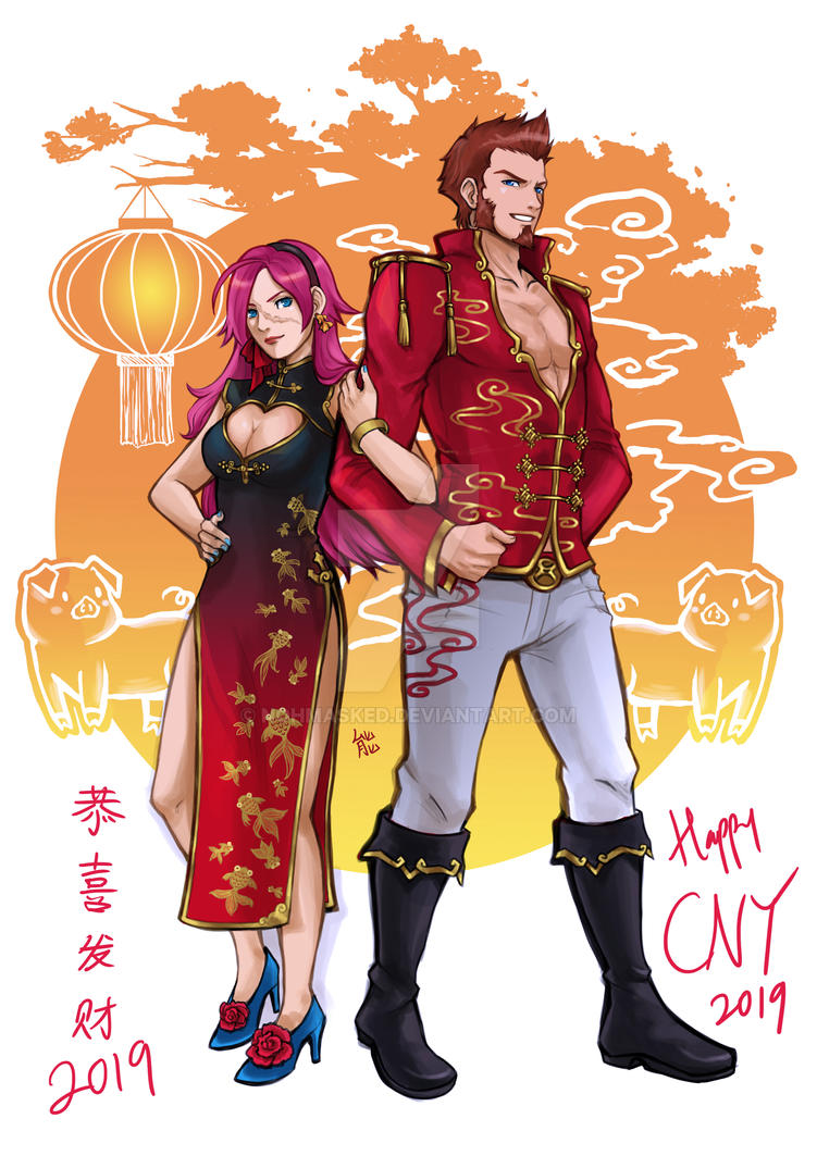 Chinese New Year 2019 by NohMasked