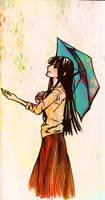 Fruehlingsregen by Nichii