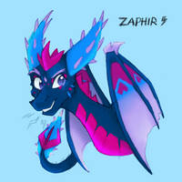 My new baby, Zaphir by FlorahThorne