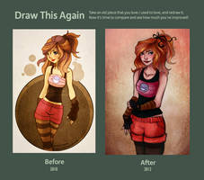 Draw Again : Bubbly