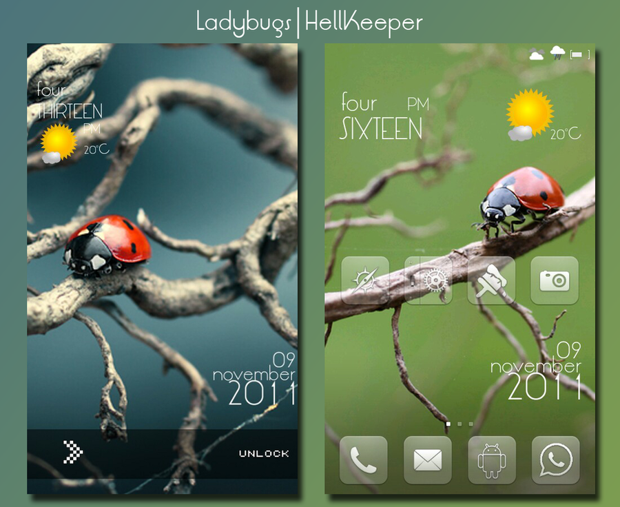 Ladybugs by 8HellKeeper8