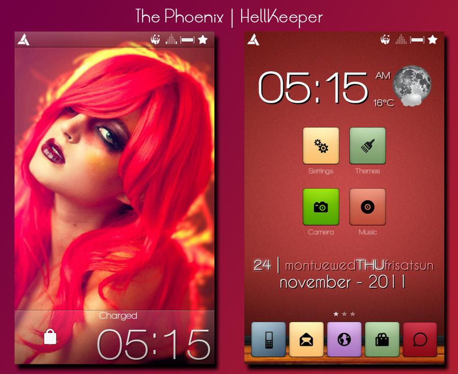 The Phoenix by 8HellKeeper8