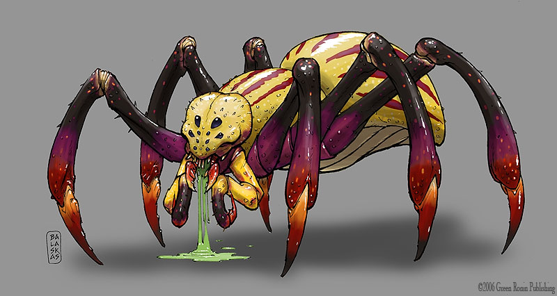 Karma Mist Giant_Spider_by_Balaskas