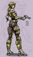 Armor Concept: Female Scout