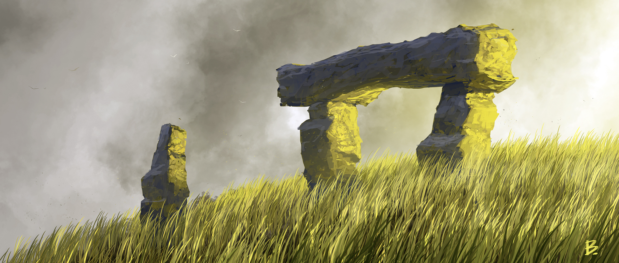 Speedpaint 253 - Monoliths by Balaskas