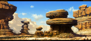 Canyon Environment Final by Balaskas