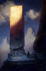 Barbarian and Megalith by Balaskas