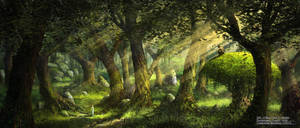 Dans les Bois / The Faun Of Healwood Environment