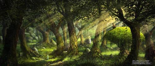 Dans les Bois / The Faun Of Healwood Environment by Balaskas