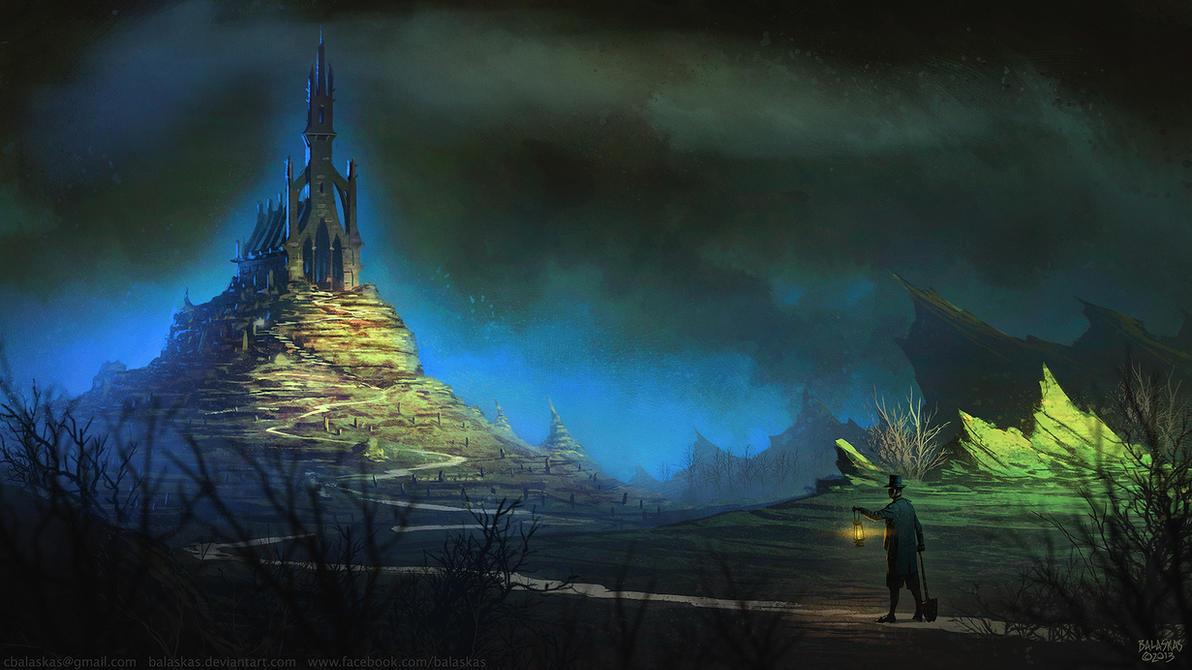 The Cursed Abbey by Balaskas