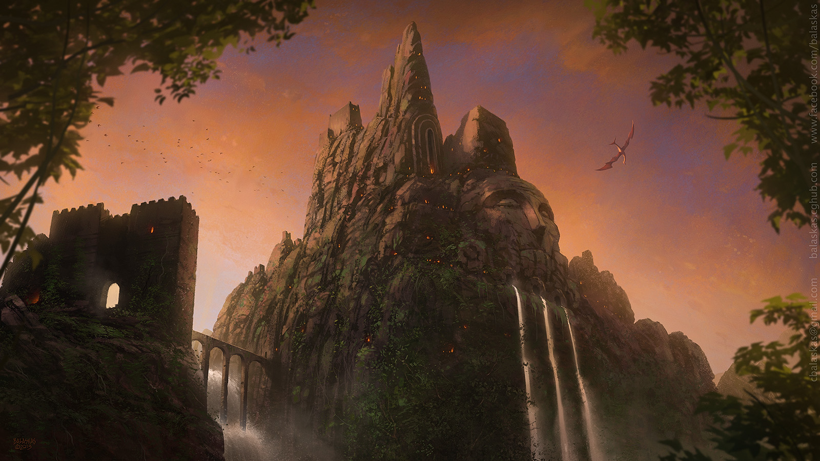 Temple of Kraan by Balaskas