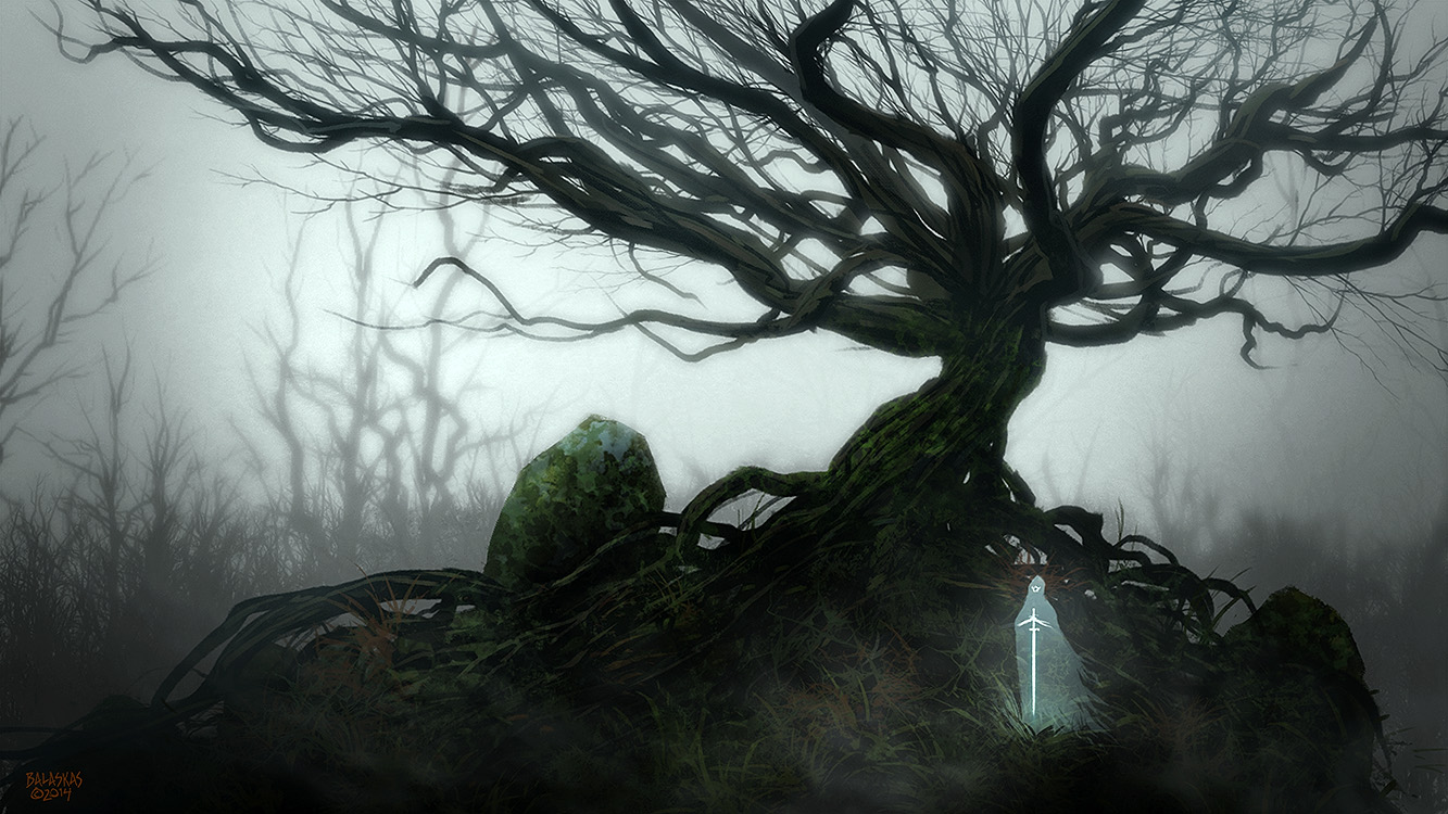Twisted Tree with Guardian by Balaskas on DeviantArt