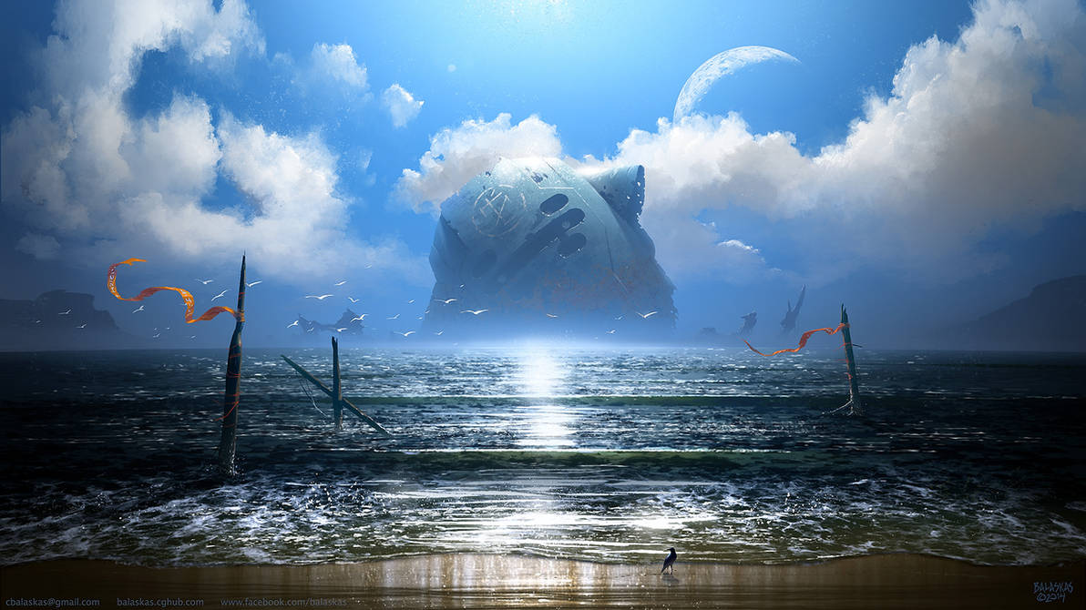 Once a God by Balaskas