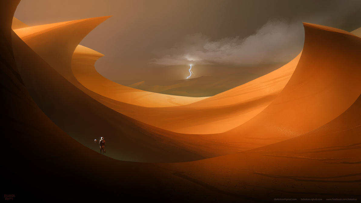 Crossing the Hardened Desert by Balaskas