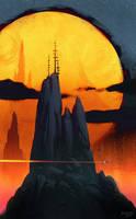 Dark Prominence by Balaskas