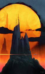 Dark Prominence