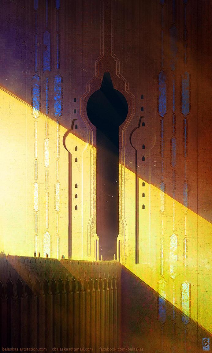 Path to Q'dar by Balaskas
