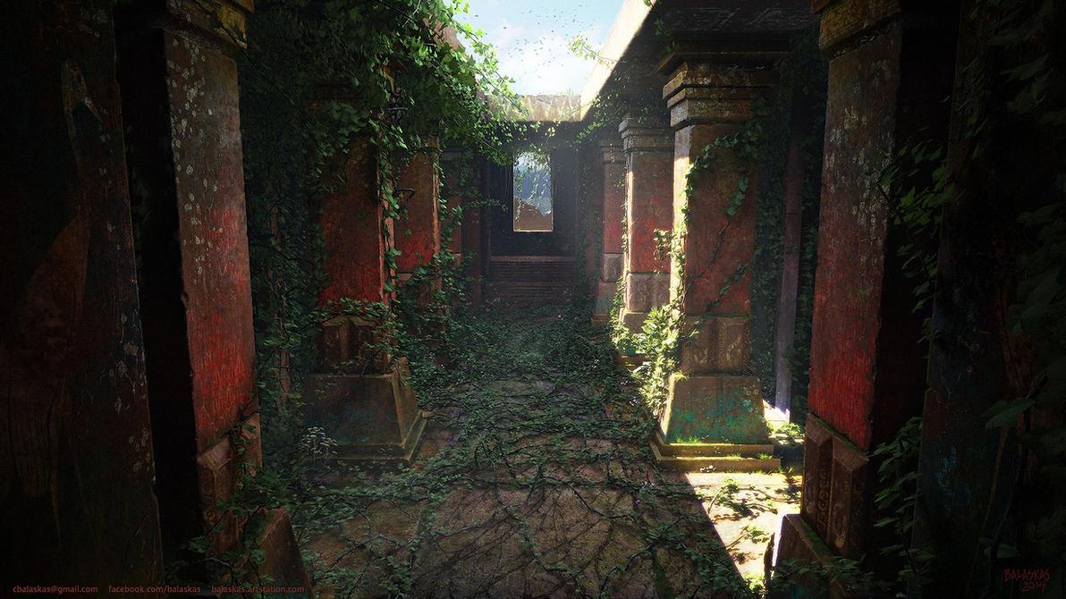 Hall of  Ibycus by Balaskas