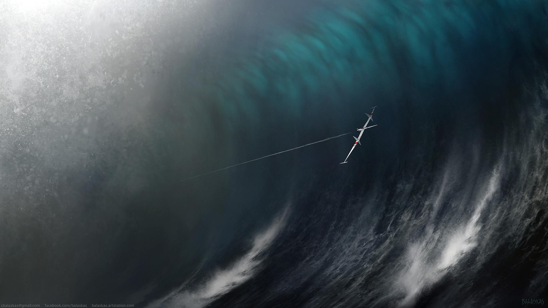 Wave Skimmer by Balaskas