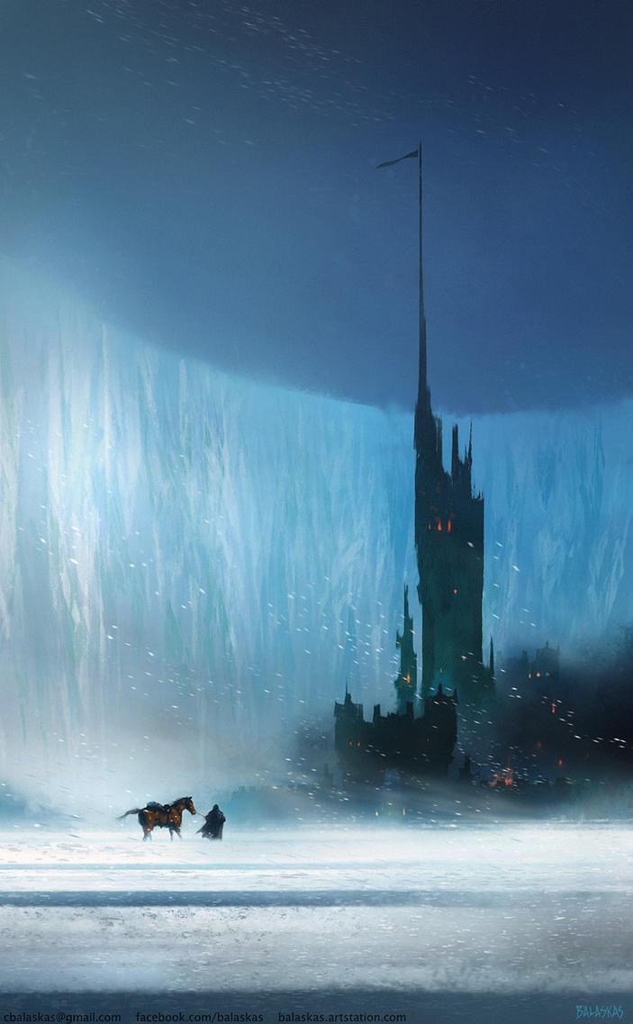 Castle Black - GoT Fanart by Balaskas