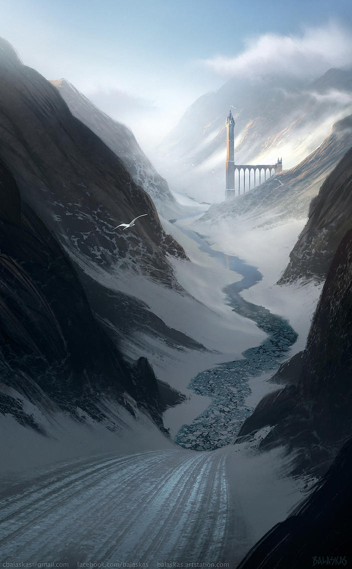 Fjordkeep by Balaskas