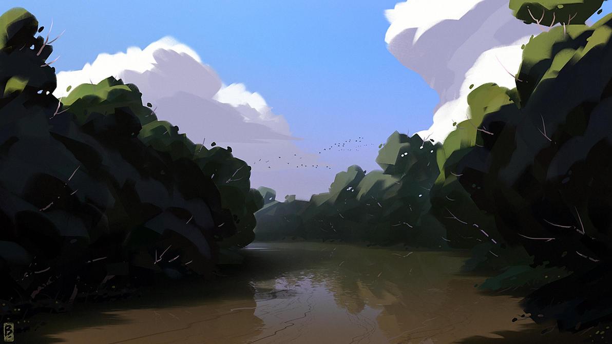 Conewango Creek by Balaskas