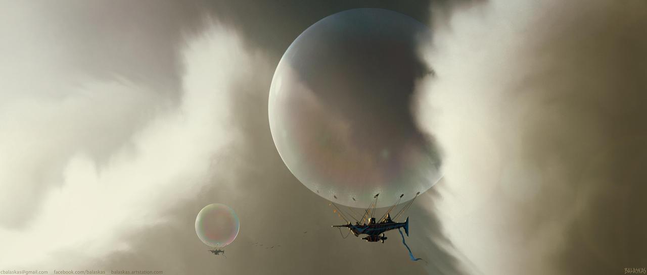 Bubble Navy by Balaskas