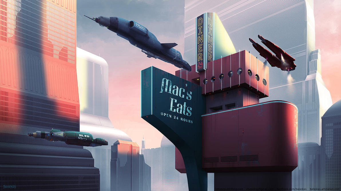 Mac's Eats by Balaskas