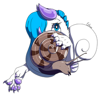 Snail Pal (Gift!) by Broken-Bottle-Coyote