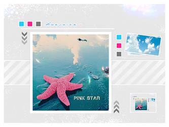 Pink Star by huejuice