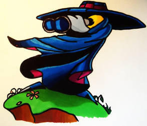 Rayman - Mr Dark by Leoxem