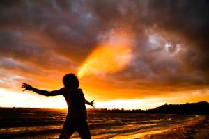 A Burst Of God's Life by wubalicious