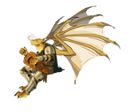 Gold Dragonborn Bard