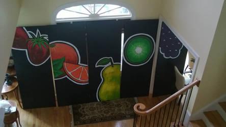 Wall Art - Kiwi Cafe by NiMPLiCiTy