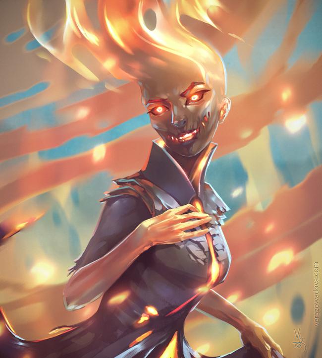 Ablaze by VeraZowa