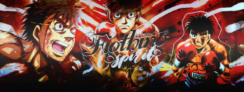 Fighting Spirit l Hajime no Ippo by Asunaw