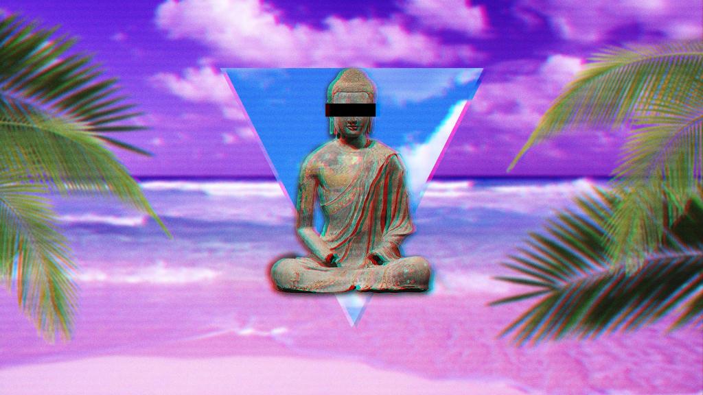 aesthetic vaporwave. by quyr on DeviantArt