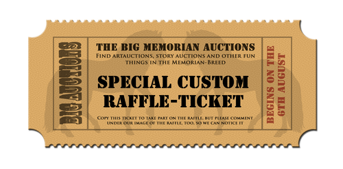 Special Custom Raffle Ticket by Newt471